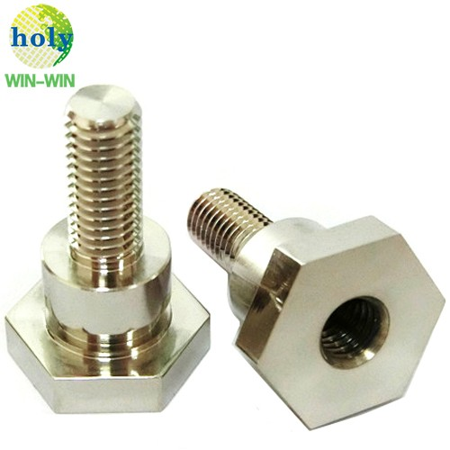 Copper CuC8140 Power Terminal CNC Machining CNC Turning Part with Nickel Plating