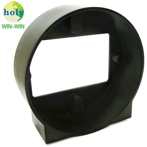 Black ABS Plastic Photographic Spare part Lens Hood CNC Machining Service