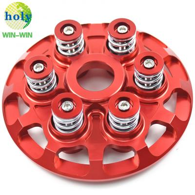 Ducati Racing Bike Pressure Plate for Slipper Clutch with Precision CNC Machining